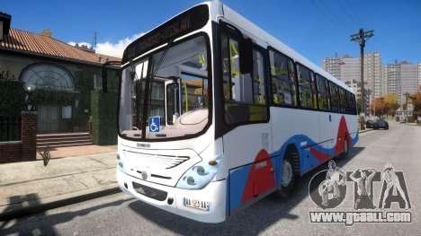 MB 1418 Moroccan-Meknes Bus for GTA 4