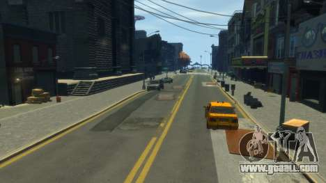 Quality roads by toshkaiz for GTA 4