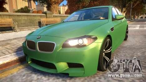 BMW M5-series F10 Azerbaijan style for GTA 4