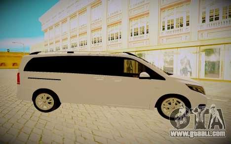 Mercedes-Benz V250 for GTA San Andreas