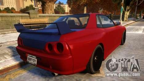 Annis Elegy Retro V1.1 for GTA 4 right view