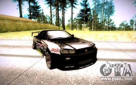Nissan Skyline for GTA San Andreas