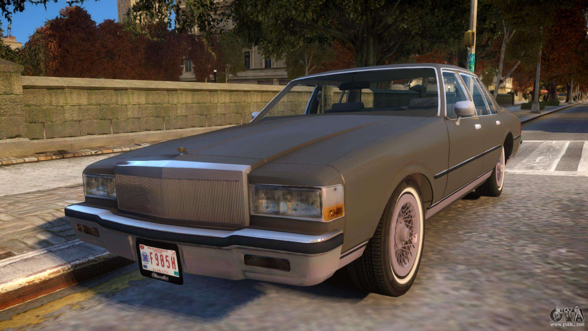 1985 chevrolet caprice classic for gta 4 publicscrutiny Choice Image
