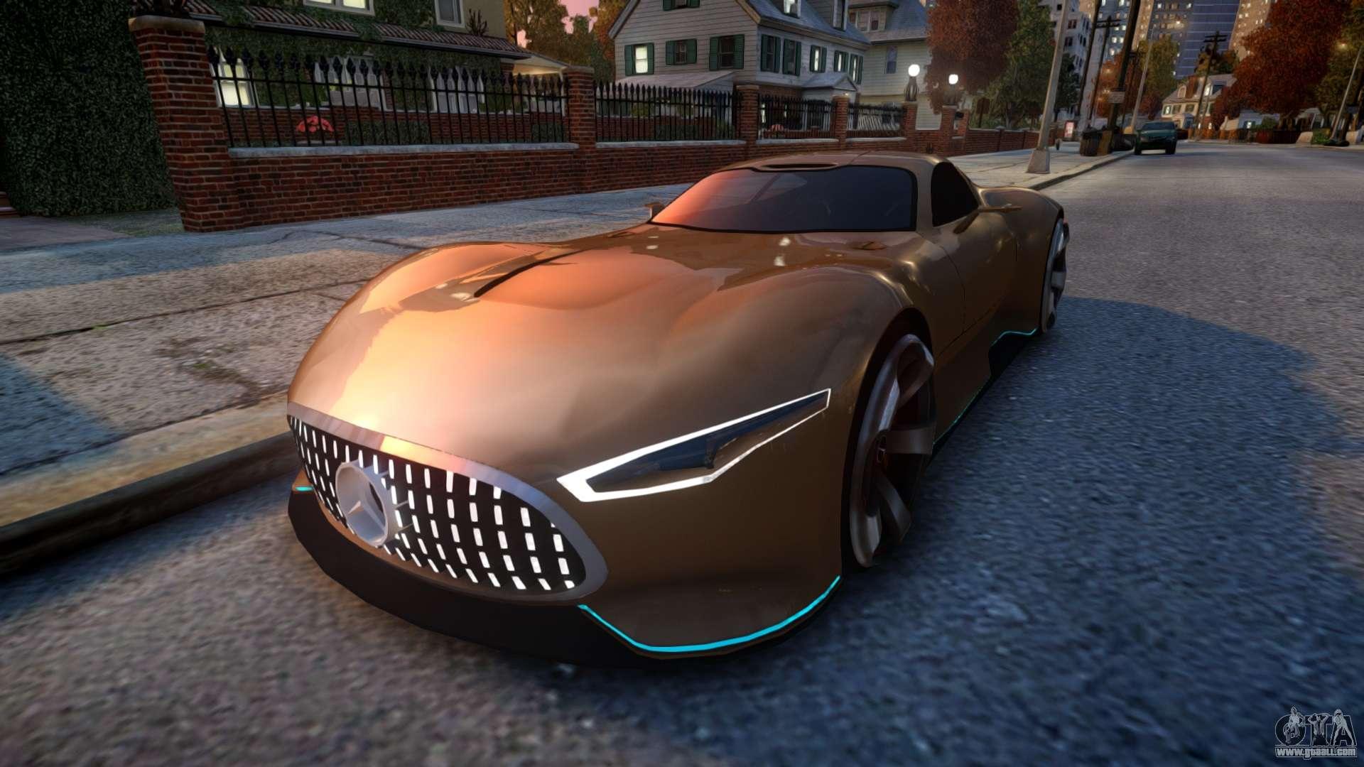 Mercedes-Benz AMG Vision GT for GTA 4