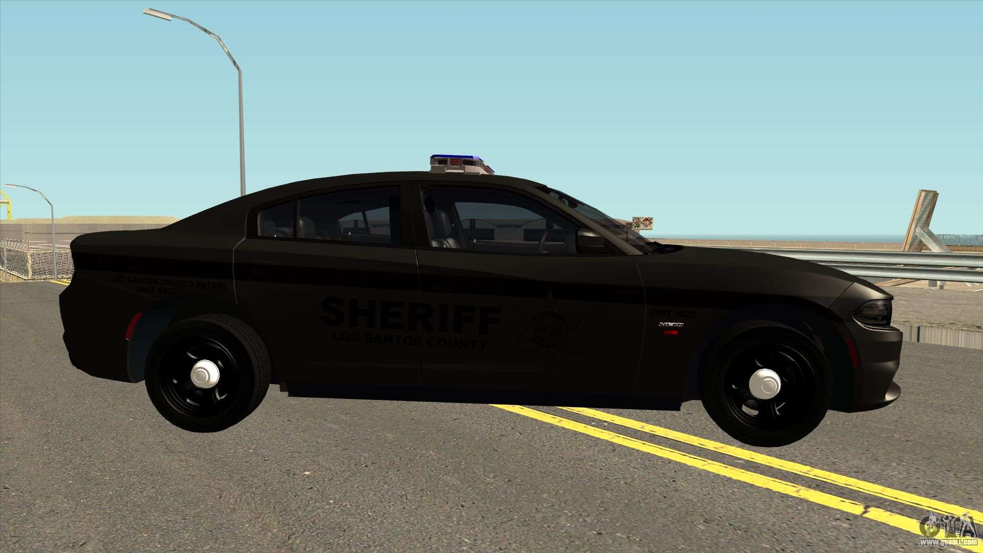 dodge charger rt sheriff department for gta san andreas. Black Bedroom Furniture Sets. Home Design Ideas