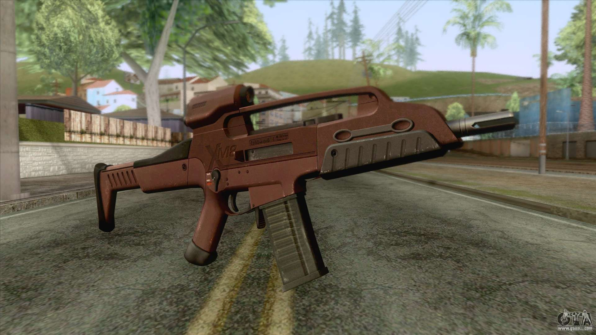 Xm8 Compact Carbine XM8 Compact Rifle Red ...