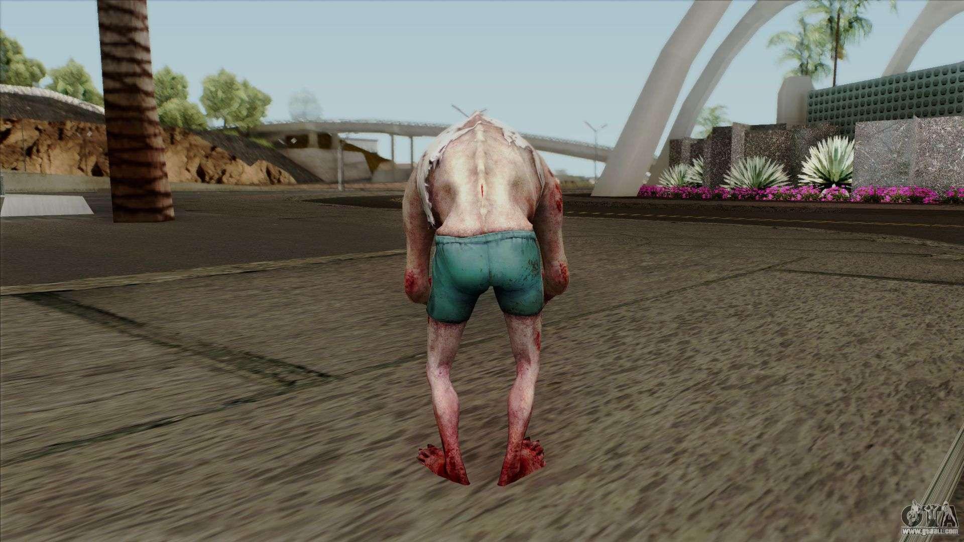 Left 4 Dead 2 - Jockey for GTA San Andreas