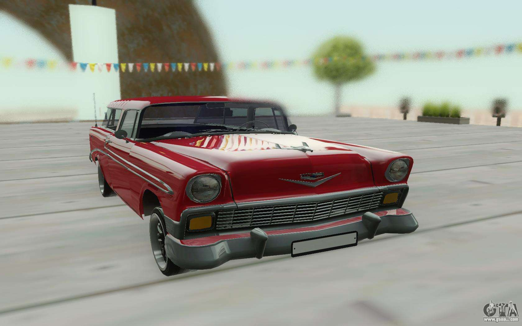 Chevrolet Nomad 1956 For Gta San Andreas