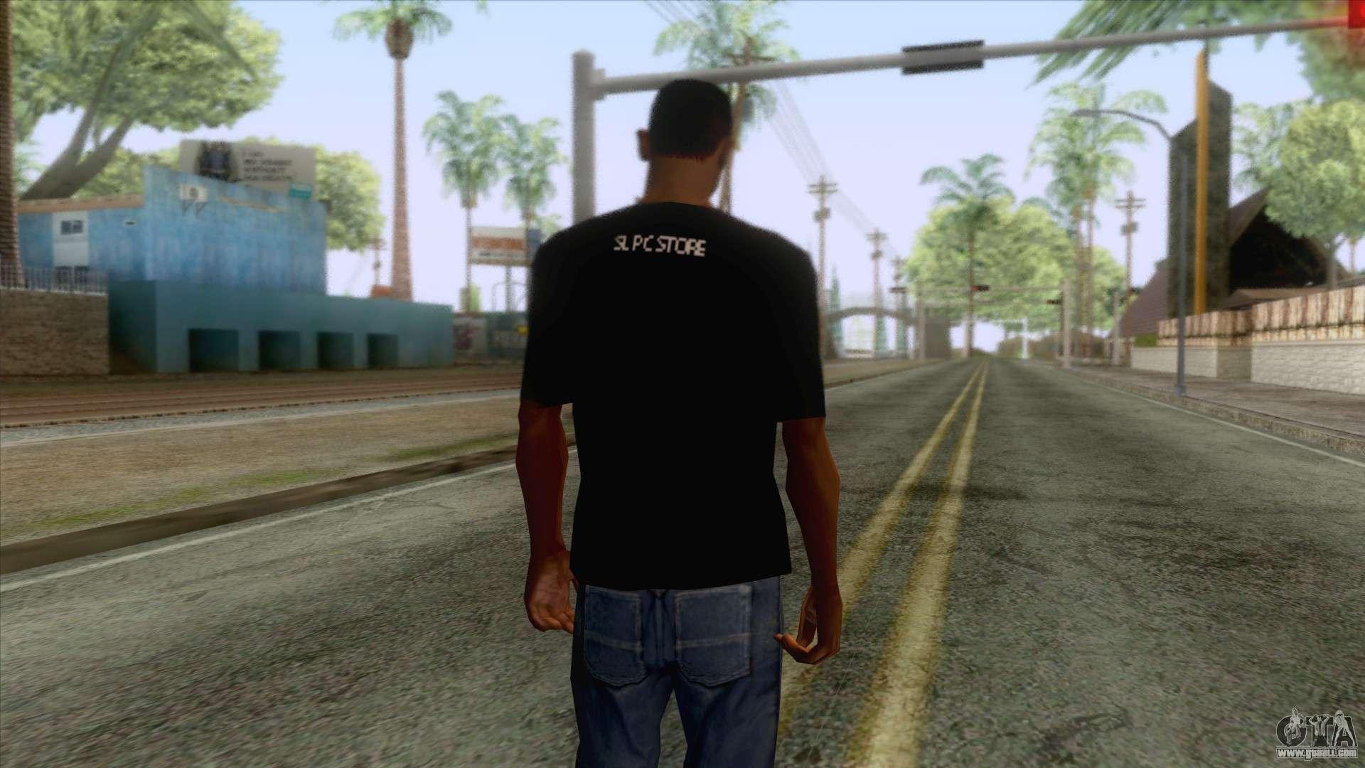 Wasthi T-Shirt for GTA San Andreas