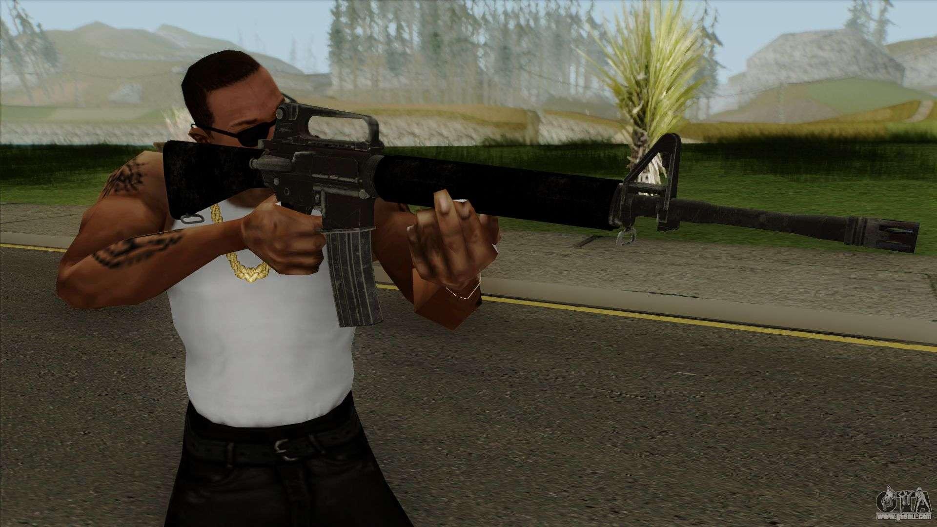 PUBG M16 For GTA San Andreas