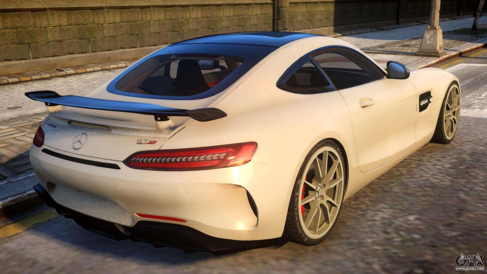 Mercedes-Amg GTR 2016 for GTA 4