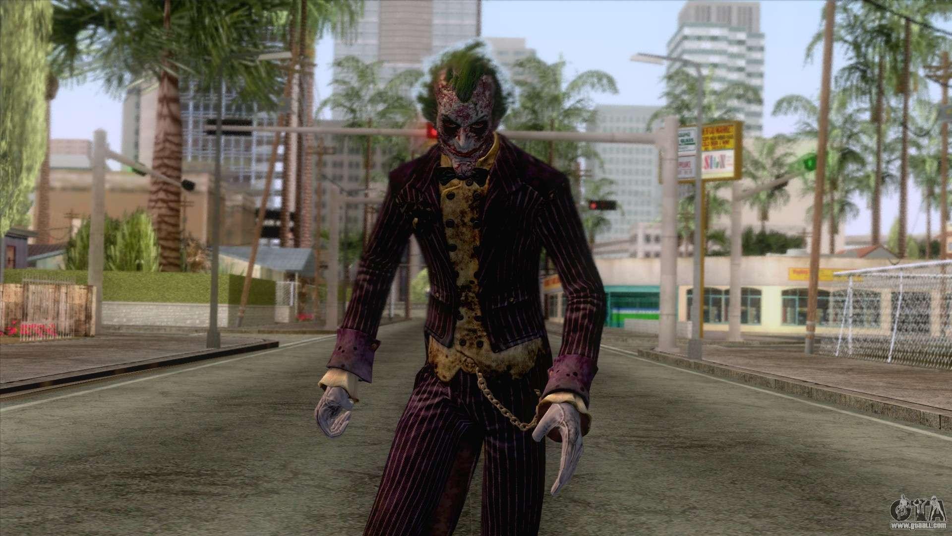 The Joker (Heroic) Skin From Dc Legends for GTA San Andreas