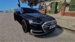 Audi A8 2017 D5 for GTA 4
