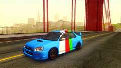 Subaru Impreza WRX STi 2004 Clean for GTA San Andreas