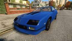 Chevrolet Camaro IROC-Z 1990 for GTA 4