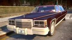 Cadillac Fleetwood Limousine 1985 for GTA 4