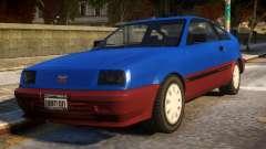 Vintage Blista for GTA 4