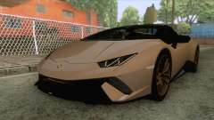 Lamborghini Huracan Performante Spyder for GTA San Andreas