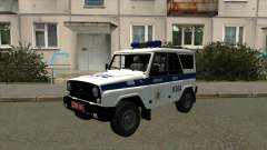 UAZ Police Minsk for GTA San Andreas
