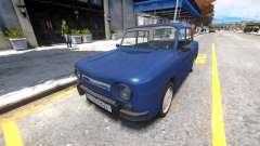 Dacia 1100 for GTA 4