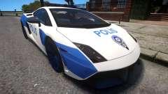 Lamborghini Gallardo LP570-4 2011 Turkey Police for GTA 4
