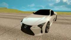 Lexus LC 500 for GTA San Andreas