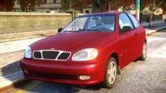 Daewoo Lanos 3-door SX US 1999 for GTA 4