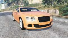 Bentley Continental GT 2012 v1.2 [replace] for GTA 5
