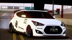 Hyundai Veloster Turbo Capruk Works Kit for GTA San Andreas