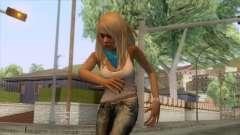 Jasmine Sanders Skin for GTA San Andreas