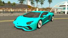 Lamborghini Aventador S LP740-4 2018 for GTA San Andreas