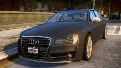 2013 Audi S8 4.0TFSI Quattro for GTA 4