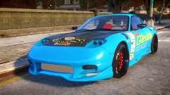 Mazda RX-7 KJC for GTA 4