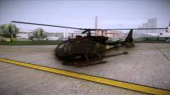SA.341 GAZELLE Wargame: Red Dragon for GTA San Andreas