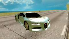 Bugatti Chiron for GTA San Andreas