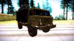 GAZ 66 for GTA San Andreas