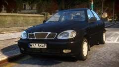 Daewoo Lanos Sedan SX PL 1997 for GTA 4