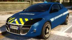 Renault Megane Gendarmerie for GTA 4