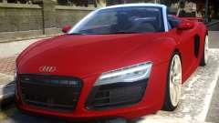 2014 Audi R8 V10 Plus Spyder v1.0 for GTA 4