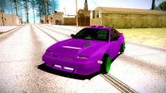 Nissan 240SX fuchsia for GTA San Andreas
