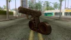 Glock 19 with Extended Magazine for GTA San Andreas
