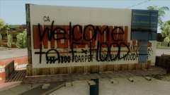 Felons Gang Environment and Graffiti for GTA San Andreas