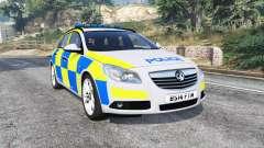 Vauxhall Insignia Tourer Police v1.1 [replace] for GTA 5