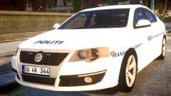 Volkswagen Passat Danish Police for GTA 4
