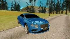 Bentley Continental G for GTA San Andreas