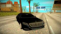Mercedes-Benz S-class W222 2014 for GTA San Andreas