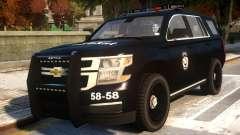 Chevrolet Tahoe Ozel Harekat for GTA 4