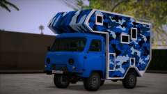 UAZ 39094 House on wheels for GTA San Andreas