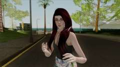 Samantha Casual v3 Sims 4 Custom for GTA San Andreas