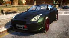 Nissan GTR Fast and Furious Movie car for GTA 4